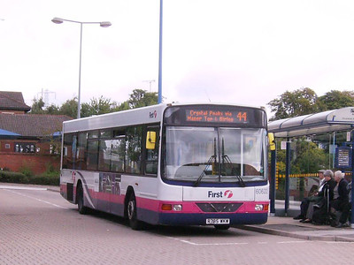 First 60622 (R785WKW), a Wright bodied Volvo B10BLE, at Crystal Peaks, 17th August