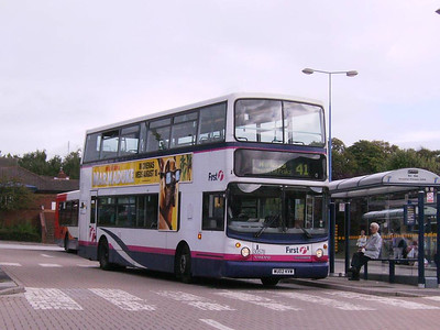 First Alexander bodied Volvo B7TL 30578 (WU02KVW) at Crystal Peaks Bus Station, 17th August