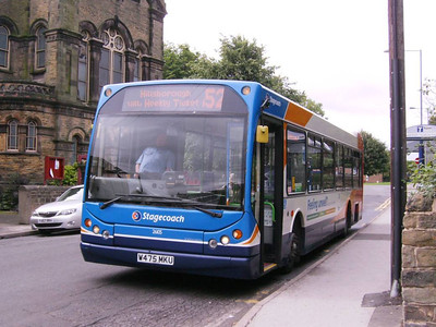 Also laying over on Chapel Street was 26105 (W475MKU), another DAF SB220