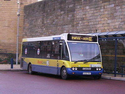 Stagecoach 47430 (YL02FKV), Hillsborough, Sheffield, 1st December 2006