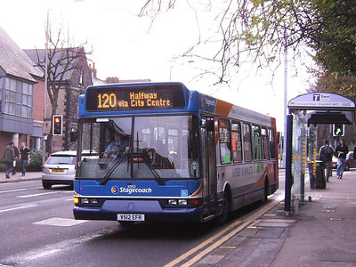 Stagecoach 31902 (V512EFR), Sheffield, 1st December 2006
