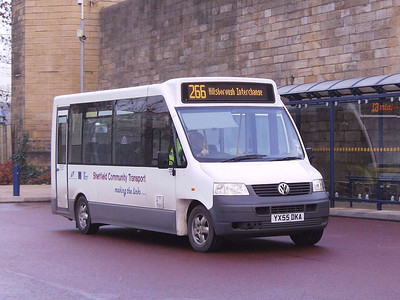 Sheffield Community Transport YK55DKA, Hillsborough, Sheffield, 1st December 2006