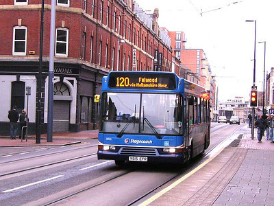 Stagecoach 31905 (V515EFR), West Street, Sheffield, 1st December 2006