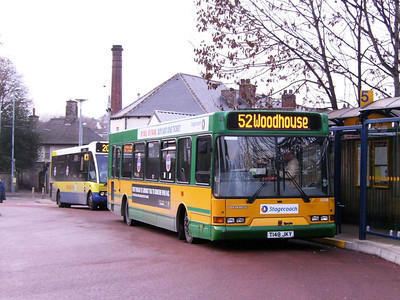 Stagecoach 33248 (T148JKY), Hillsborough, Sheffield, 1st December 2006