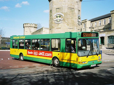 Yorkshire Terrier 2513 (LR02EHJ), an East Lancs bodied Volvo B6BLE is seen departing Hillsborough Interchange