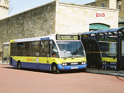 Yorkshire Terrier Optare Solo 212 (YC51GZX) in Rural Links livery, at Hillsborough Interchange