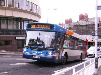 At the top of Townhead Street is Stagecoach 22430 (YN07KPZ), another of the new MAN 18.240s, this time with no route branding. 21st September 2007