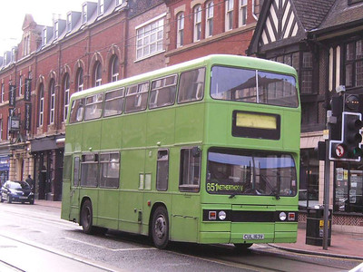 MASS CUL163V is an ex London Transport Leyland Titan, seen on West Street after completion of school duties, 21st September 2007