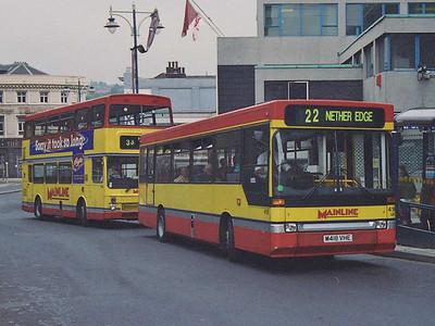 Similar bus 418 (M418VHE), also on Waingate