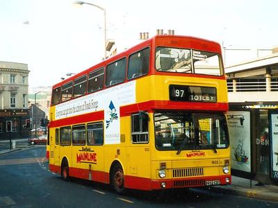 MCW Metrobus Mk II 1932 (B932CDT) on Waingate, 29th March 1991