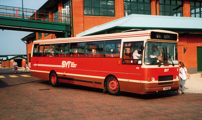 In South Yorkshire's Transport livery on 25th May 1991 is 69 (KIB6110)