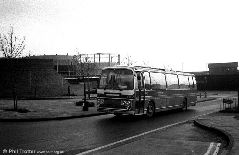A second view of West Wales Motors, Tycroes 66 (GCY 74N) at Swansea.
