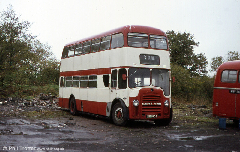 Eynon's ex-Bolton (171) PD3/East Lancs FH41/32F UBN 904, acquired via Shennan, Drongan.