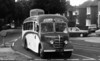 Now owned by Edwards of Llanon, but seen with Gem Coaches, Colsterworth is 1950 Bedford OB/Plaxton ETL 221.