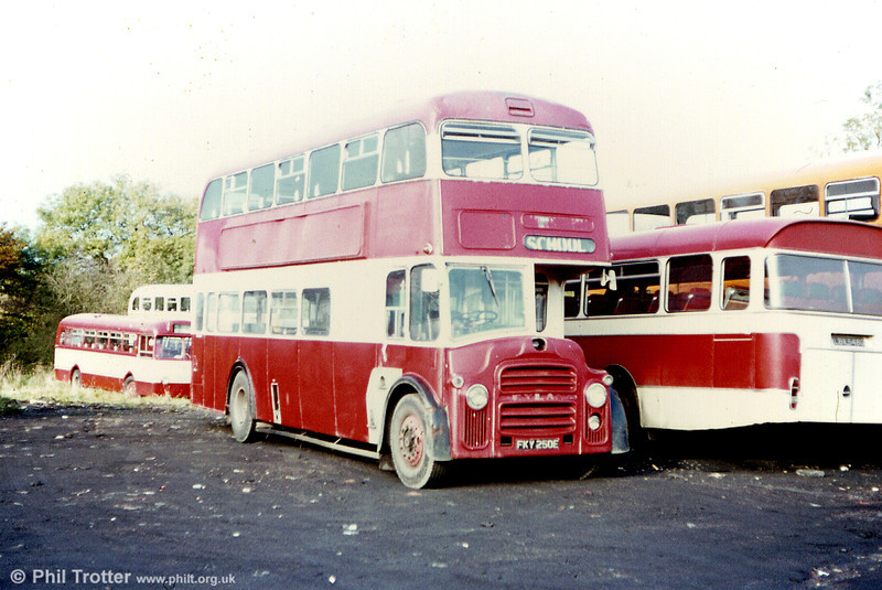 Eynon's ex-Bradford and West Yorkshire PD3/Neepsend H40/30F FKY 250E.