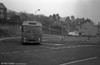 Pictured leaving the depot is Taff-Ely AEC Reliance/Willowbrook B45F 10 (GTG 92L).