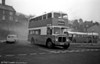 Taff-Ely AEC Regent V 3 (NNY 760E) makes a smoky departure on an afternoon schools service.