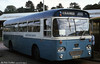 Islwyn Borough Transport 1 (LBO 728P), a 1976 Leyland Leopard/Willowbrook B45F photographed at Caerphilly.