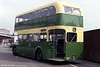A platform view of Newport Transport 1958 Leyland PD2/40/Longwell Green H30/28R no. 178 (PDW 484) photographed in 1983.