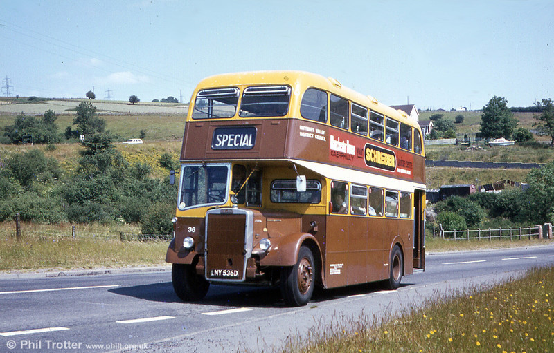 A closer look at Rhymney Valley 36 (LNY 536D) on a sunny afternoon in 1981.