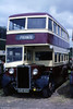 Preserved Cardiff 46 (EBO 900), a 1949 Crossley DD42/5 with Scottish Commercial L27/26R body.