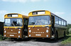 RVDC 81 and 82 (LBO 81/2X) were two of three Leyland Leopards/East Lancs B47F purchased in 1981.