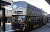 Cardiff 343 (WTG 343T), a Bristol VRT/Alexander H44/31F seen in commemorative tramways livery.