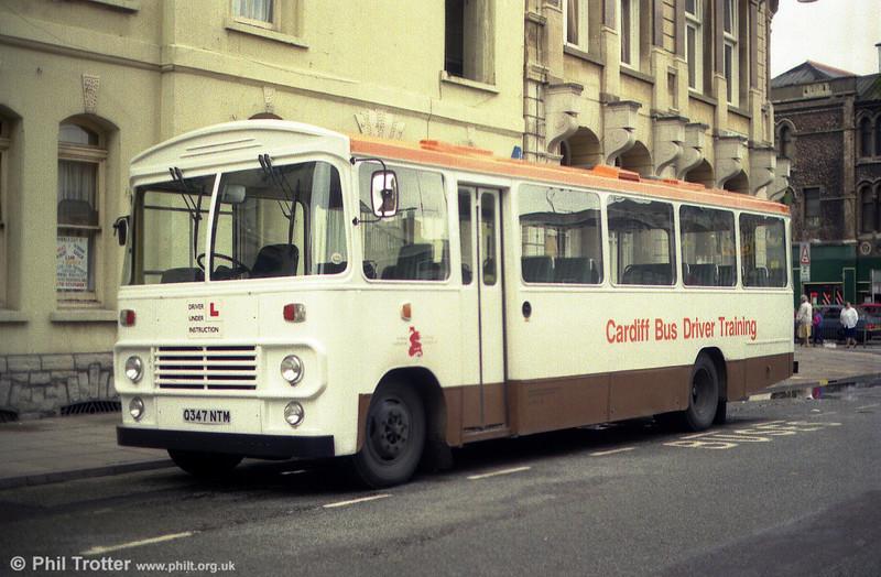 Q347 NTM was a Bedford training bus, probably of MoD origin.