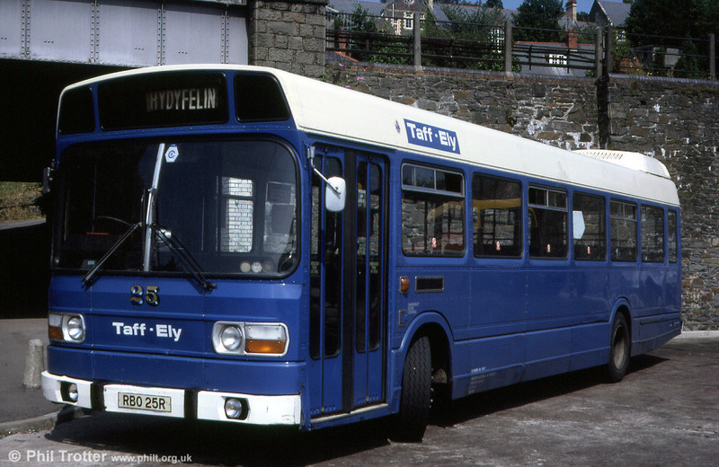 Taff-Ely 25 (RBO 25R) was a 1977 Leyland National B49F.
