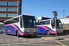 First Coaches ex-Berks Bucks/Beeline 20201/7 (T701/7 JLD), Volvo B12T/Plaxton C53F seen on rail replacement work at Swindon on 28th August 2005.