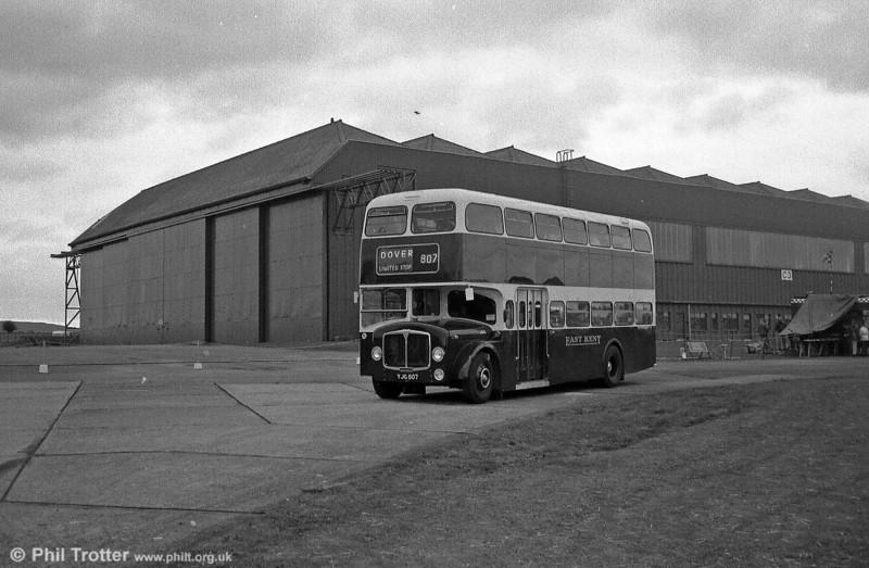 East Kent 1962 AEC Bridgemaster/Park Royal H43/29F seen at Wroughton Airfield.