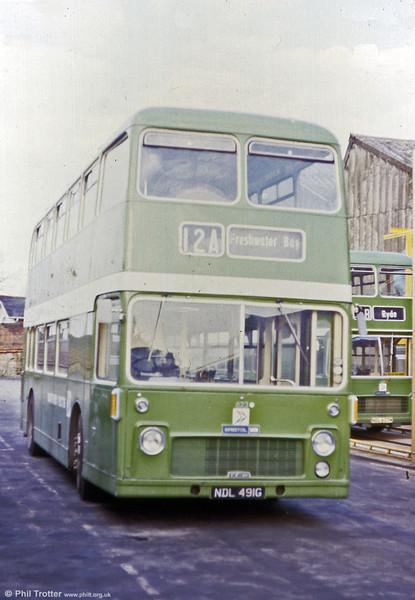 Southern Vectis Bristol VRT/ECW H39/31F 623 (NDL 491G).