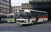 Seen at Victoria Coach Station in March 1984 is Alder Valley 1165 (LHL 250P), a Leyland Leopard/Alexander DP49F new to Yorkshire Traction (no.250), but originally ordered by West Riding.