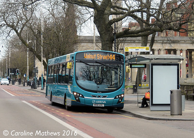 Arriva 3083 (MX61AVL), Lord Street, Southport, 19th March 2016