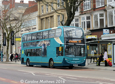 Arriva 4582 (YX64VBY), Lord Street, Southport, 19th March 2016