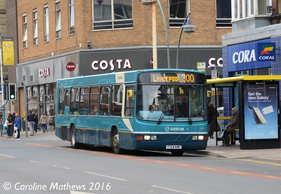 Arriva 2724 (Y724KNF), Eastbank Street, Southport, 19th March 2016