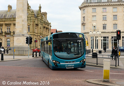 Arriva 3035 (MX10BZU), London Square, Southport, 19th March 2016