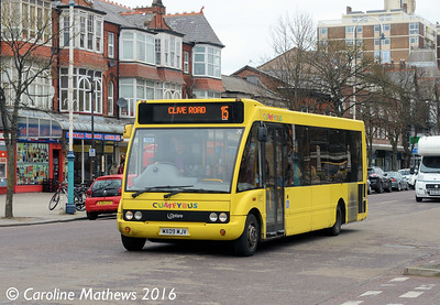 Cumfybus MX09MSV, Lord Street, Southport, 19th March 2016