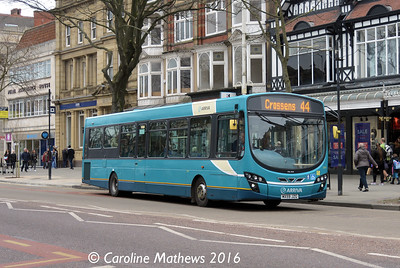 Arriva 2991 (MX59JZG), Lord Street, Southport, 19th March 2016