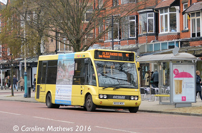 Cumfybus MX55WDE, Lord Street, Southport, 19th March 2016