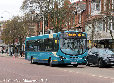 Arriva 3044 (MX10CZH), Lord Street, Southport, 19th March 2016
