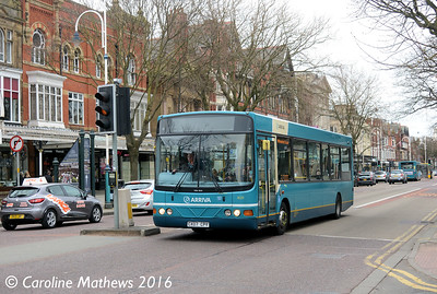 Arriva 2629 (CX07CPY), Lord Street, Southport, 19th March 2016