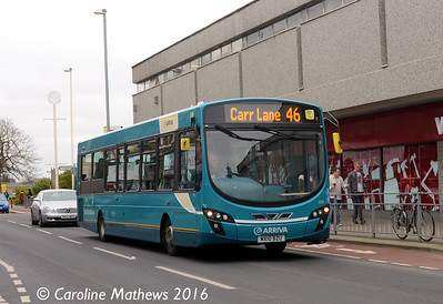 Arriva 3035 (MX10BZU), London Street, Southport, 19th March 2016