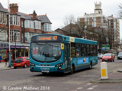 Arriva 3089 (MX61AVT), Lord Street, Southport, 19th March 2016
