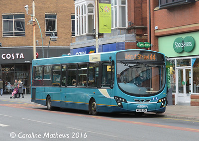 Arriva 2992 (MX59JZH), Eastbank Street, Southport, 19th March 2016