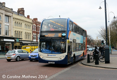 Stagecoach 15470 (PX09AWZ), Lord Street, Southpport, 19th March 2016