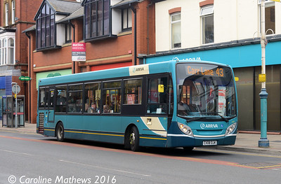 Arriva 2142 (CX08DJK), Eastbank Street, Southport, 19th March 2016