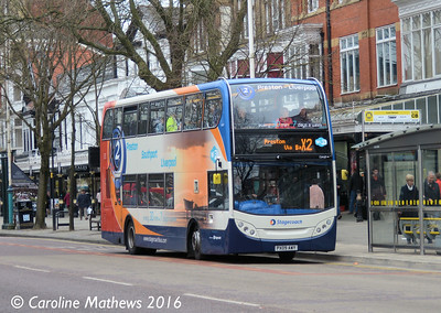 Stagecoach 15469 (PX09AWY), Lord Street, Southport, 19th March 2016