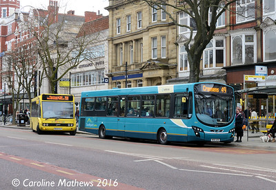 Arriva 3085 (MX61AVN), Lord Street, Southport, 19th March 2016