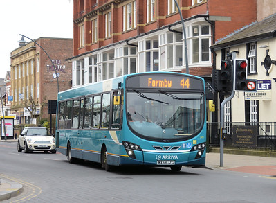 Arriva 2991 (MX59JZG), Hoghton Street, Southport, 19th March 2016